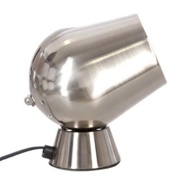 Lampe deco chrome h18cm