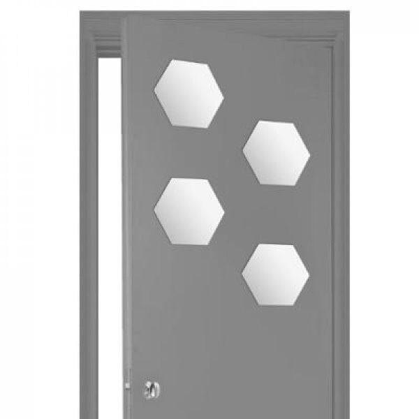 Miroir adhesif hexa 20x20 x4 - ATM