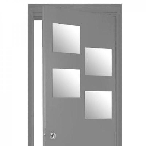 Miroir adhesif carre 30x30 x4 - ATM