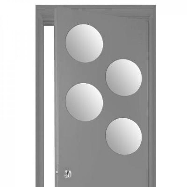 Miroir adhesif rond 30x30 x4 - ATM