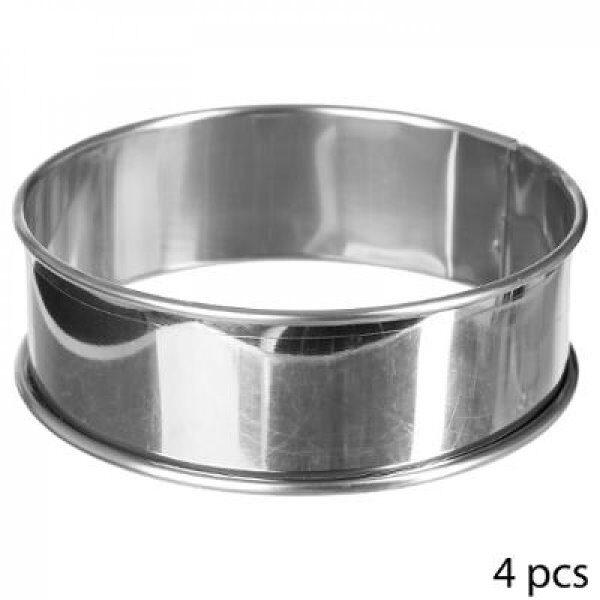 Cercle a tartelettes x4 inox - FSS